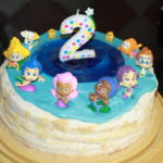 Simple Bubble Guppies Birthday Cake